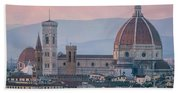 The Heart Of Florence Italy Beach Towel