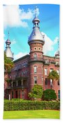 The Henry B. Plant Museum Tampa Fl Beach Towel