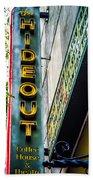 The Hideout Beach Towel