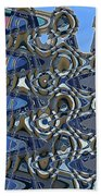 The High Road,abstract Beach Towel