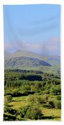 The Hills Of Southern Ireland Beach Towel