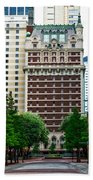 The Historic Adolphus Hotel Beach Towel