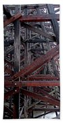 The Historic Kinsol Trestle  Inside View Beach Towel
