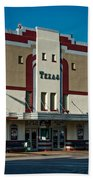 The Historic Texas Theatre Beach Towel