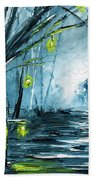 The Hollow Road Beach Towel