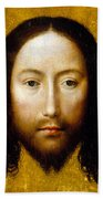 The Holy Face Beach Towel by Flemish School