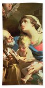 The Holy Family Beach Towel by Gaetano Gandolfi