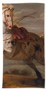 The Horse And The Snake Beach Towel
