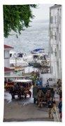 The Horses Of Mackinac Island Michigan Vertical 02 Beach Towel