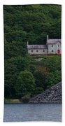 The House By The Llyn Peris Beach Towel