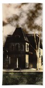 The House From Psycho Beach Towel