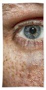 The Human Eye Beach Towel