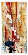 The Imaginary Art Co. Storm Beach Towel