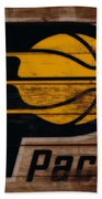 The Indiana Pacers 3b Beach Towel
