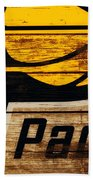 The Indiana Pacers 3c Beach Towel