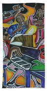 The Jazz Orchestra Beach Towel