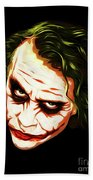 The Joker - Pop Art Beach Towel