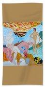 The Joy Of A Fool Beach Towel