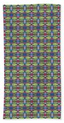 The Joy Of Design X X X I I I Arrangement 1 Tile 9x9 Beach Towel