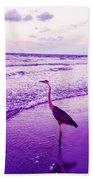 The Joy Of Ocean And Bird 2 Beach Towel