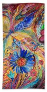 The Joyful Iris Beach Towel