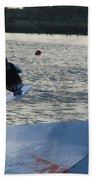 The Jump Beach Towel