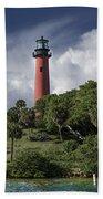 The Jupiter Inlet Lighthouse Beach Towel