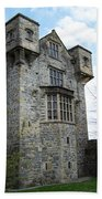 The Keep At Donegal Castle Ireland Beach Towel