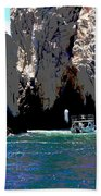 The Keyhole Mexico Cabo San Lucas Beach Towel