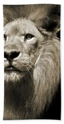The King II Beach Towel