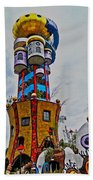 The Kuchlbauer Tower Beach Towel by Juergen Weiss