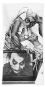 The Last Laugh Beach Towel by Pete Tapang
