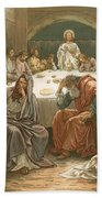 The Last Supper Beach Towel
