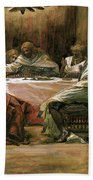 The Last Supper Beach Towel by Tissot
