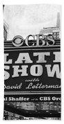 The Late Show Beach Towel