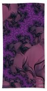 The Lavender Forest 2 Beach Towel