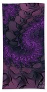 The Lavender Forest 4 Beach Towel