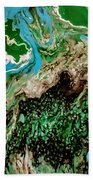The Lay Of The Land Beach Towel