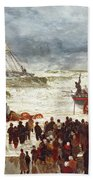The Lifeboat Beach Towel