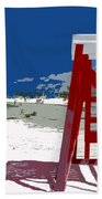 The Lifeguard Stand Beach Towel