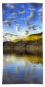 The Light At Skaha Lake Beach Towel