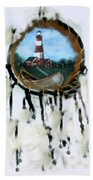 The Assateague Lighthouse Beach Towel