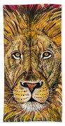 The Lions Selfie Beach Towel