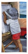 The Little Artist Beach Towel