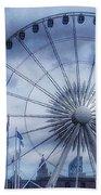 The Liverpool Wheel In Blues Beach Sheet