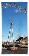 The London Eye 2 Beach Towel