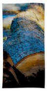 The Lonely Log Beach Towel