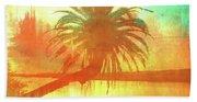 The Loop Palm Textured Beach Towel