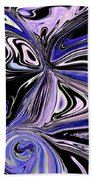 The Lost Statue Abstract Beach Towel