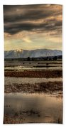 The Lower Pack River Idaho Beach Towel